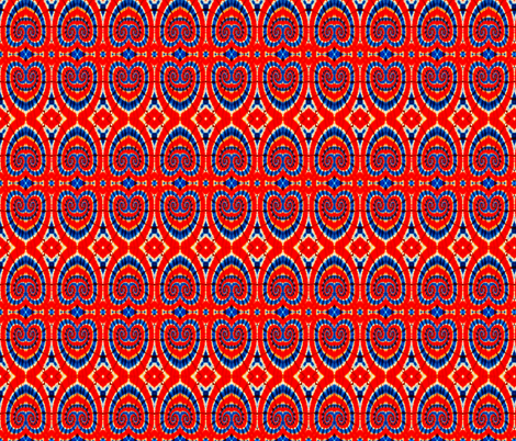 Heart of A Patriot fabric by just_meewowy_design on Spoonflower - custom fabric