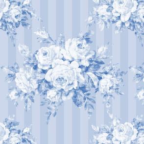Woodland Rose blueberry stripe