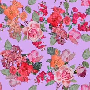 Vintage Roses // Lavender