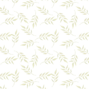 Light Tan Leaves pattern