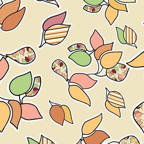 Falling  Leaf Clusters