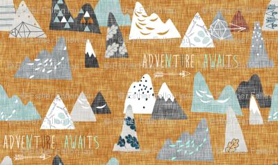 Adventure Awaits (mustard) MICRO