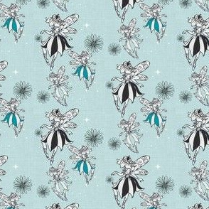 Pixie Dust Pale Blue Sparkle -Small scale