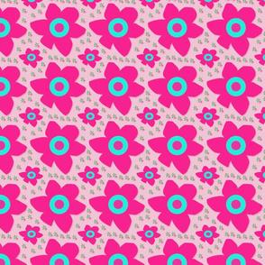 Flower bright pink
