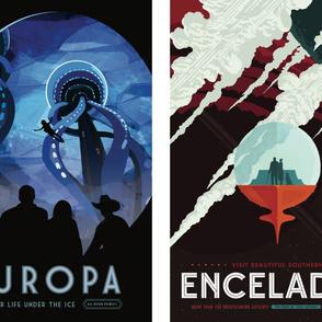 Europa & Enceladus