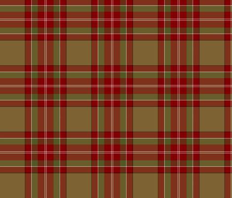 "Byrd  / MacByrd tartan, 6"" fabric by weavingmajor on Spoonflower - custom fabric"