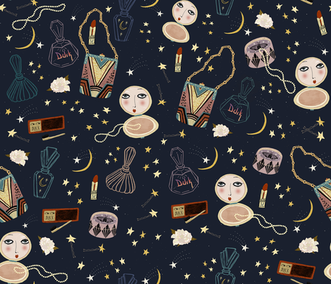 1920s  fabric by susanmitchell on Spoonflower - custom fabric