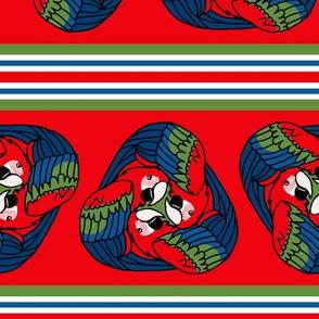 Tripartite Parrot Stripe