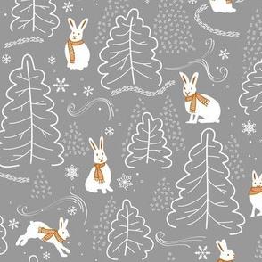 Snow Bunny Silver