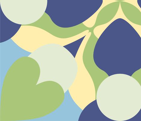 Gingko Design 2 fabric by reannalilydesigns on Spoonflower - custom fabric