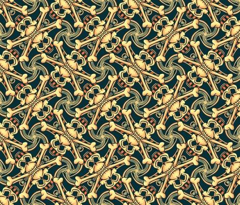 Rrrpirate-skull-crossbones-orange-punk-rock-print-fabric-and-wallpaper-by-borderlines-original-and-rock-n-roll-textile-design_shop_preview