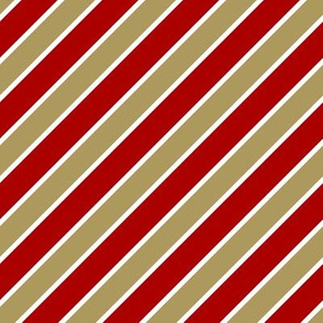 San Francisco 49ers team colors