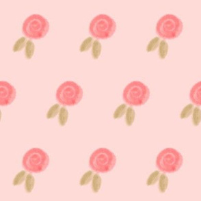 pink rosettes