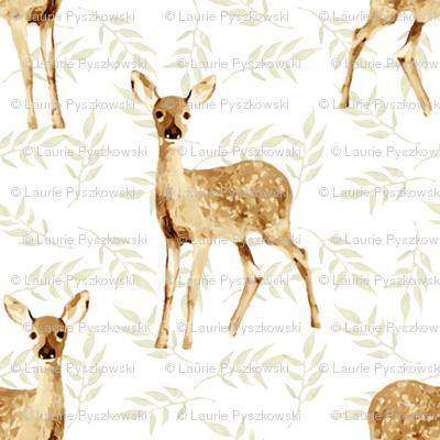 Little Baby Deer Pattern
