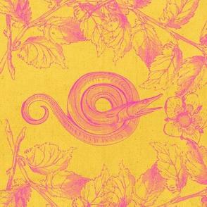 Eel Life in Yellow