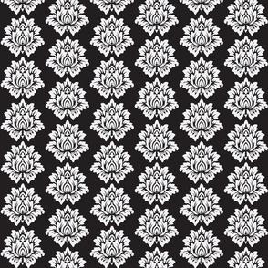 Black Lotus Flower-Black