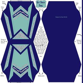 Art Deco Bling Bag Cut and Sew