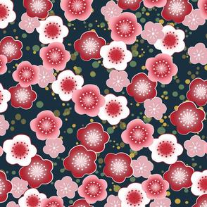 Washi Sakura Blossoms-ed