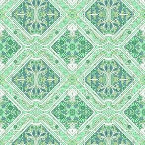 Tilted Tile Garden