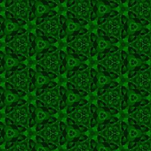 Bright emerald mosaic