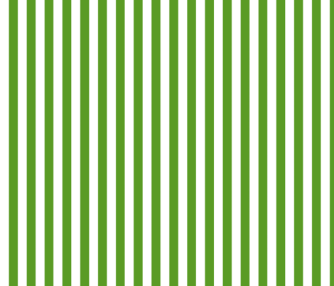 Green Stripe - vertical fabric by gumbo_gator on Spoonflower - custom fabric