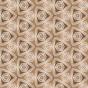 Gentle triangular mosaic
