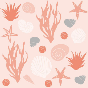 In the Sea - coral