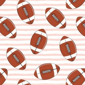 college football (rose stripes)