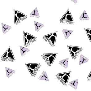 Pattern for Shirt Logos 2 Again LIGHTER Purple