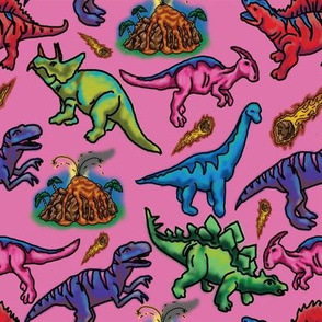 Extinct in Pink