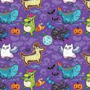 Crazy Halloween night