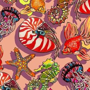 sandy summer fishy