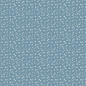 Random dotted pattern on grey