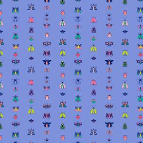 Bright Bugs - Blue Stripe