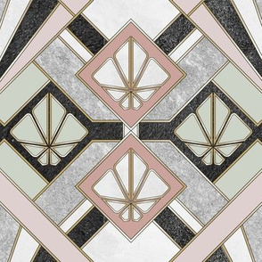 Pastel Art Deco