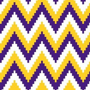 ric rac // purple and gold