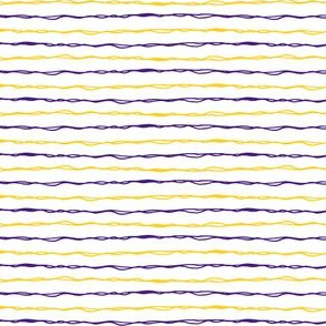 purple and gold stripes