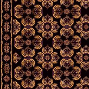art deco baroque gold