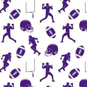 football medley - purple