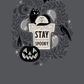 Stay Spooky Tea Towel