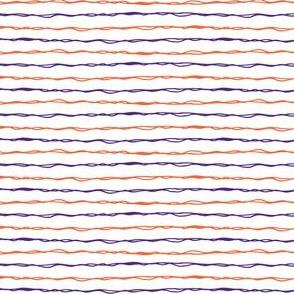 purple and orange stripes