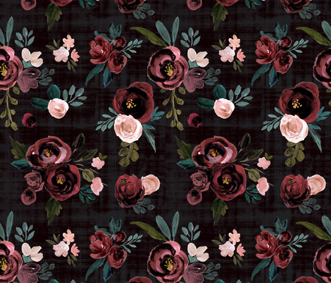Madison Floral fabric by crystal_walen on Spoonflower - custom fabric