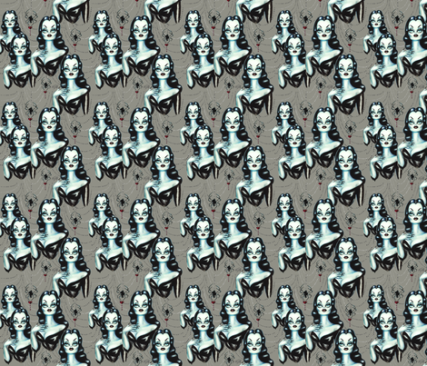 Small- Vampire Vixen fabric by miss_fluff on Spoonflower - custom fabric