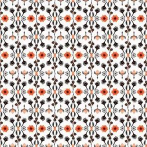 Bohemian Striped Floral