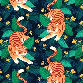 Hidden Tabby Tiger