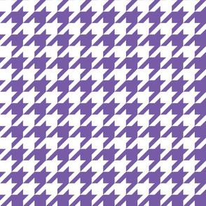 1 Inch Ultraviolet Houndstooth