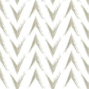 Brushed Chevron-Green