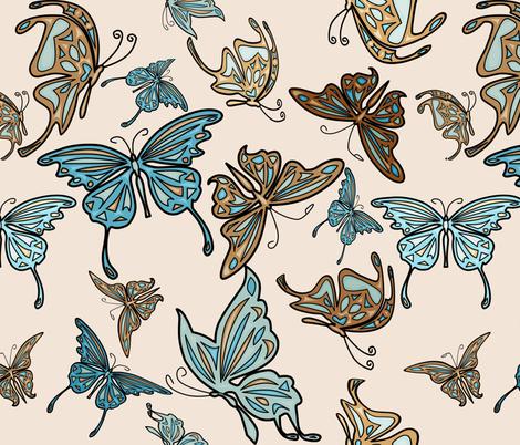 butterfly fabric by avot_art on Spoonflower - custom fabric