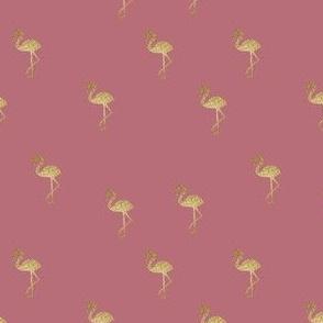 Flamingo rose gold