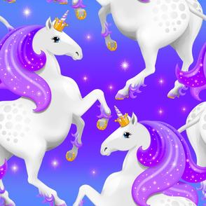Purple Princess Unicorn